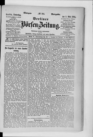 Berliner Börsen-Zeitung vom 03.05.1894