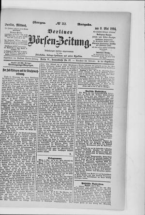 Berliner Börsen-Zeitung vom 09.05.1894
