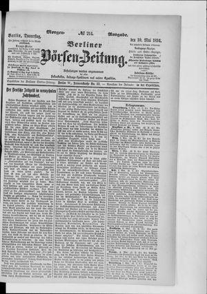 Berliner Börsen-Zeitung vom 10.05.1894