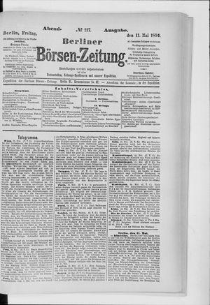 Berliner Börsen-Zeitung vom 11.05.1894