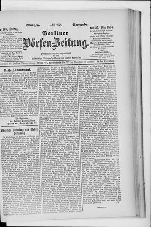 Berliner Börsen-Zeitung vom 25.05.1894