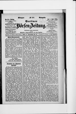 Berliner Börsen-Zeitung vom 01.06.1894