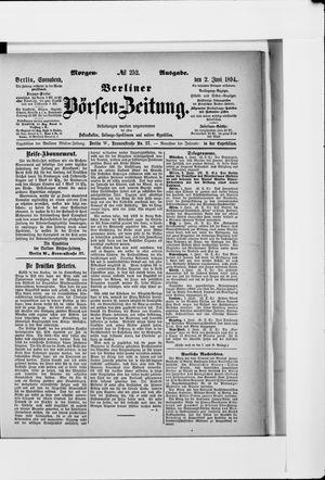 Berliner Börsen-Zeitung vom 02.06.1894