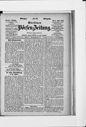 Berliner Börsen-Zeitung vom 03.06.1894