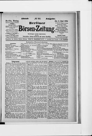 Berliner Börsen-Zeitung vom 04.06.1894