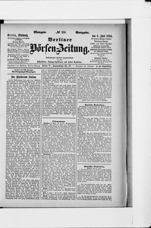 Berliner Börsen-Zeitung vom 06.06.1894