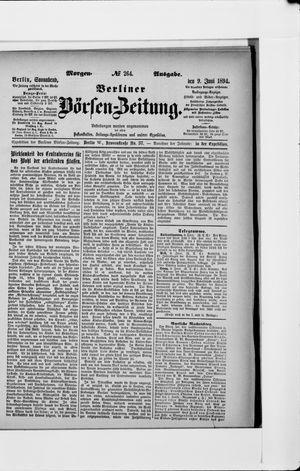 Berliner Börsen-Zeitung vom 09.06.1894