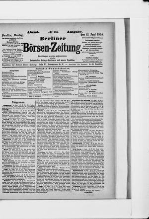 Berliner Börsen-Zeitung vom 11.06.1894