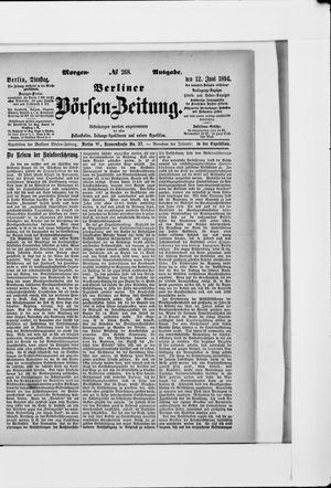 Berliner Börsen-Zeitung vom 12.06.1894