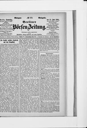 Berliner Börsen-Zeitung vom 14.06.1894