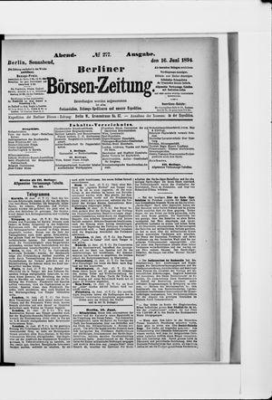 Berliner Börsen-Zeitung vom 16.06.1894