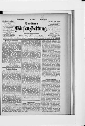Berliner Börsen-Zeitung vom 19.06.1894