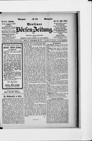 Berliner Börsen-Zeitung vom 24.06.1894