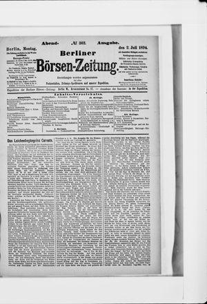 Berliner Börsen-Zeitung vom 02.07.1894