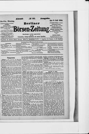 Berliner Börsen-Zeitung vom 03.07.1894