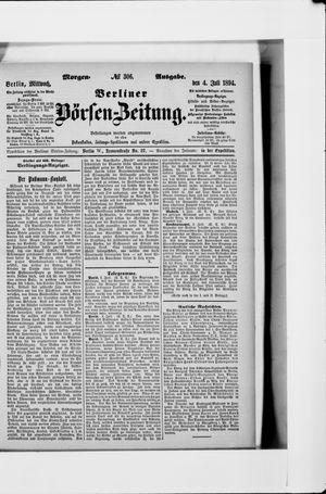Berliner Börsen-Zeitung vom 04.07.1894