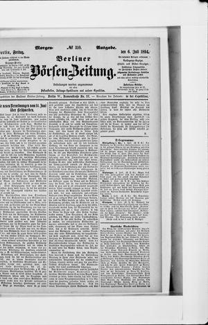 Berliner Börsen-Zeitung vom 06.07.1894