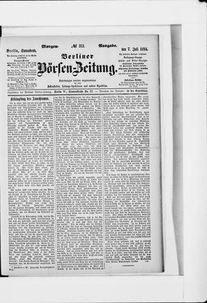 Berliner Börsen-Zeitung vom 07.07.1894