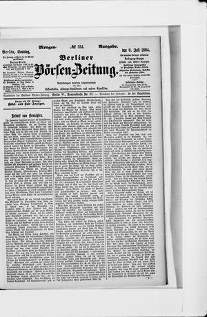 Berliner Börsen-Zeitung vom 08.07.1894