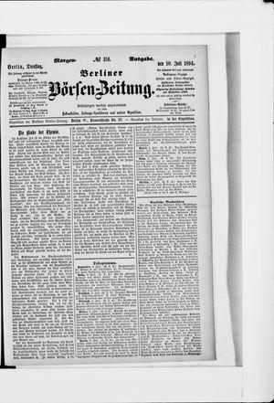 Berliner Börsen-Zeitung vom 10.07.1894