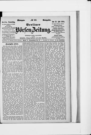 Berliner Börsen-Zeitung vom 12.07.1894