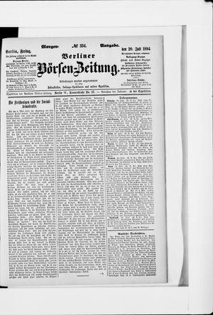 Berliner Börsen-Zeitung vom 20.07.1894