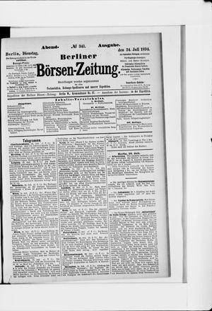 Berliner Börsen-Zeitung vom 24.07.1894