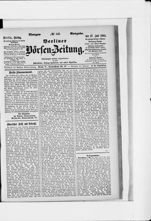 Berliner Börsen-Zeitung vom 27.07.1894