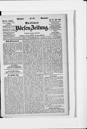 Berliner Börsen-Zeitung vom 29.07.1894