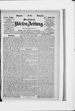 Berliner Börsen-Zeitung vom 07.08.1894