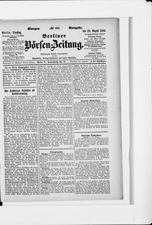 Berliner Börsen-Zeitung vom 28.08.1894