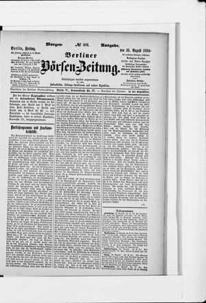 Berliner Börsen-Zeitung vom 31.08.1894