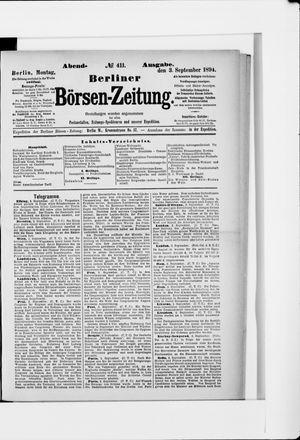 Berliner Börsen-Zeitung vom 03.09.1894