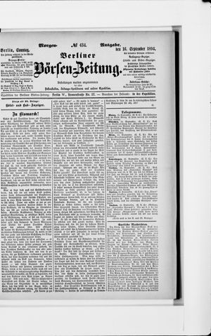 Berliner Börsen-Zeitung vom 16.09.1894