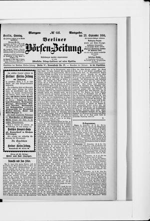 Berliner Börsen-Zeitung vom 23.09.1894