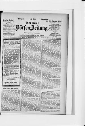 Berliner Börsen-Zeitung vom 28.09.1894