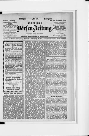 Berliner Börsen-Zeitung vom 30.09.1894