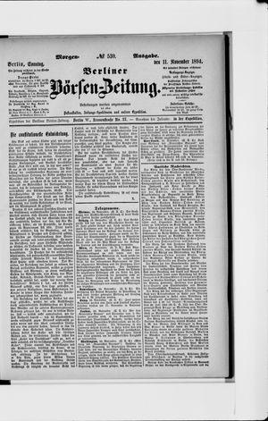 Berliner Börsen-Zeitung vom 11.11.1894
