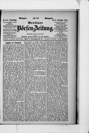 Berliner Börsen-Zeitung vom 06.12.1894