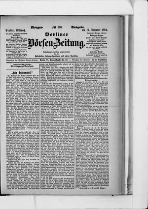 Berliner Börsen-Zeitung vom 12.12.1894