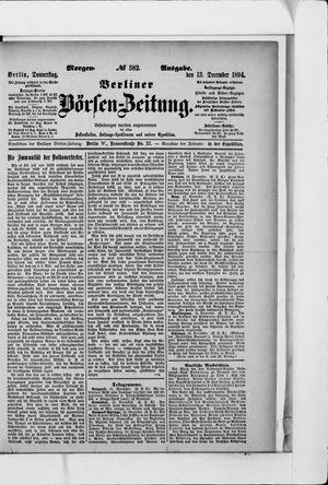 Berliner Börsen-Zeitung vom 13.12.1894