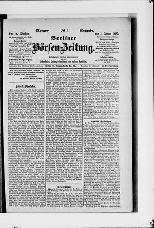 Berliner Börsen-Zeitung vom 01.01.1895