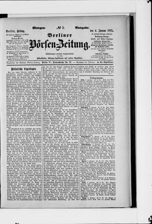 Berliner Börsen-Zeitung vom 04.01.1895