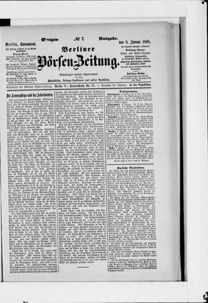 Berliner Börsen-Zeitung vom 05.01.1895