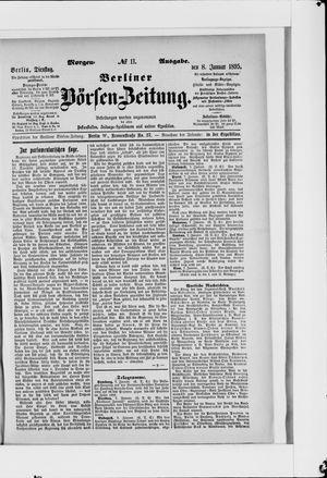 Berliner Börsen-Zeitung vom 08.01.1895