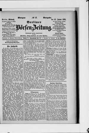 Berliner Börsen-Zeitung on Jan 23, 1895