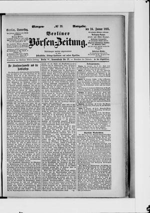 Berliner Börsen-Zeitung vom 24.01.1895