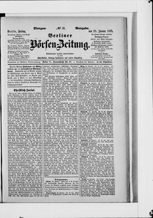 Berliner Börsen-Zeitung vom 25.01.1895