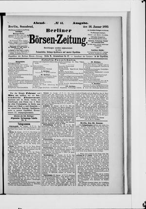 Berliner Börsen-Zeitung vom 26.01.1895
