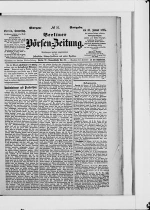 Berliner Börsen-Zeitung vom 31.01.1895